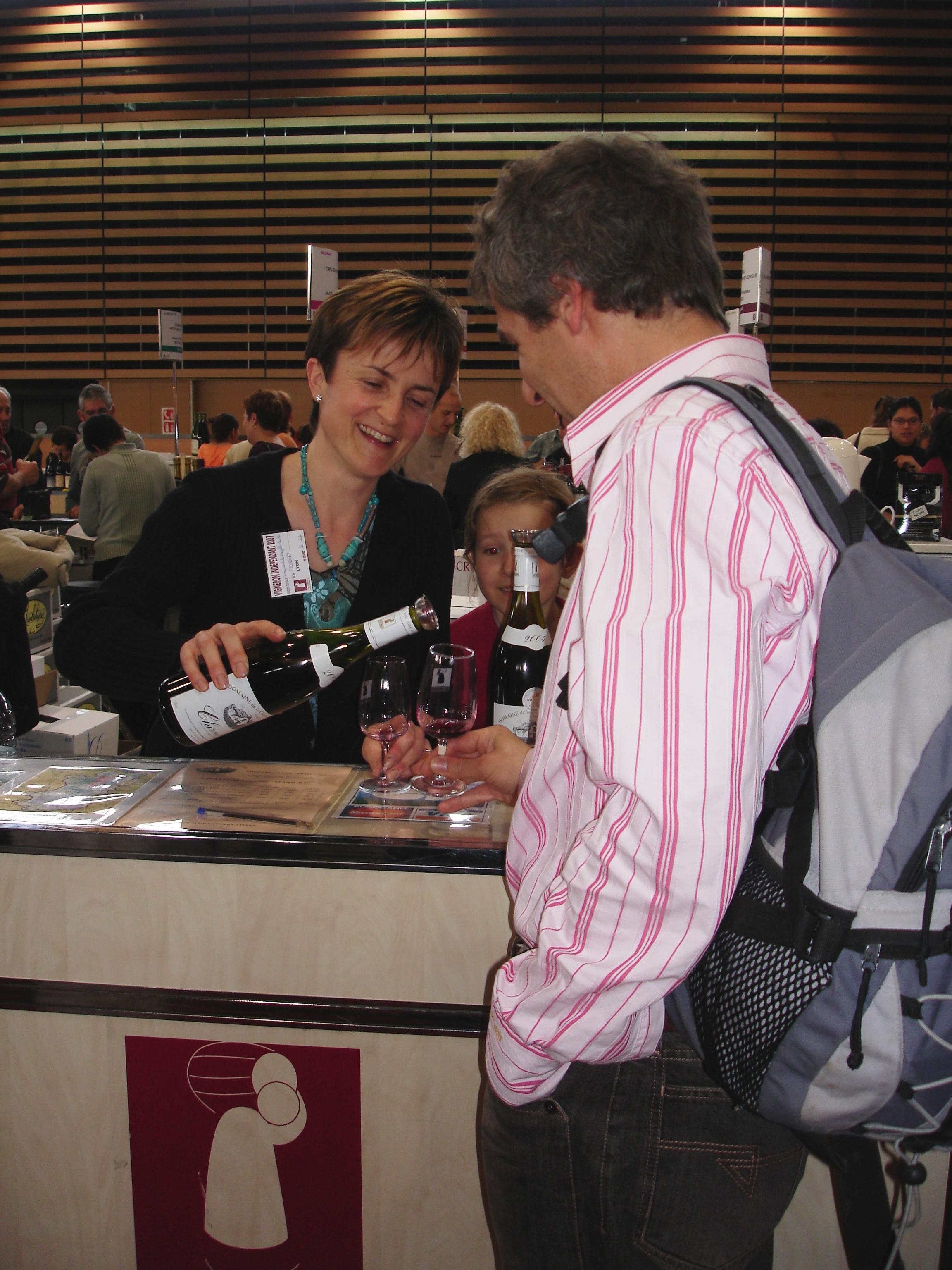 Chantal et eric coudert appert - Salon des vignerons independants strasbourg ...